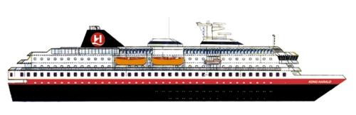 Hurtigruten Schiffe Kong Harald