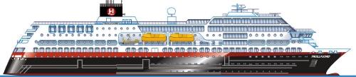 Hurtigruten Schiffe Trollfjord