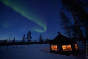 Nordlichter Tour Lappland