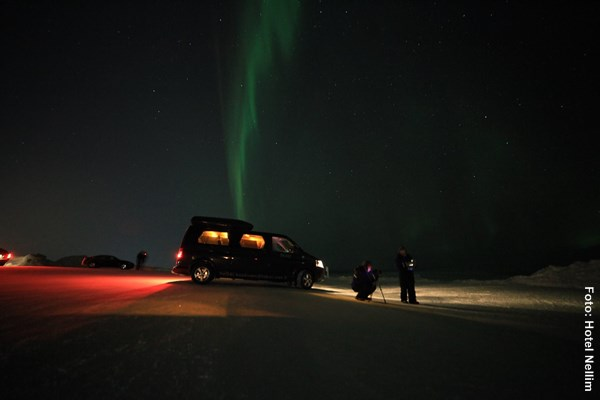 Nordlichttour mit Auto