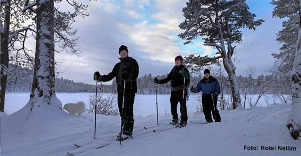 Skitour Nellim