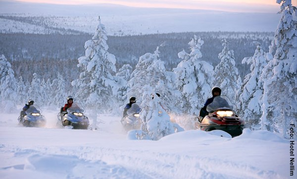 Winterreise Finnland