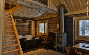 traditionelle Hütte