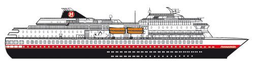 Hurtigruten Schiffe Finnmarken