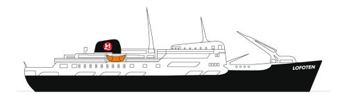 Hurtigrute Tradition Lofoten
