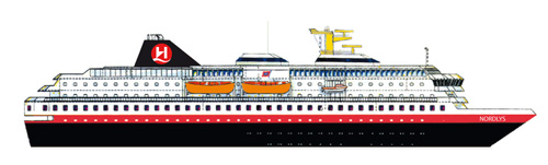 Hurtigruten Norwegen Nordlys