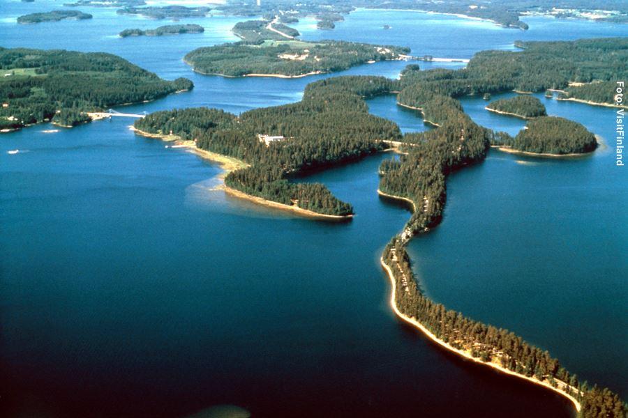 Finnland Rundreisen See