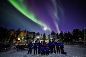 Lappland Winter-Abenteuer