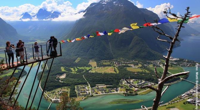 Norwegen Romsdalstreppe