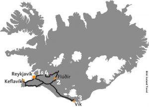 Winterreise Island Polarlichter