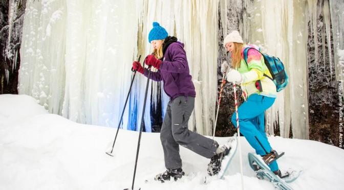 Frauen Skiurlaub Finnland
