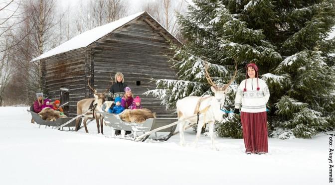 Finnland Winterreisen