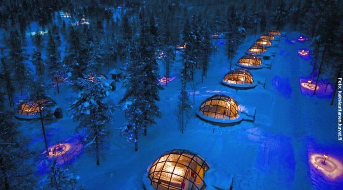 Glasiglu Dorf Finnland
