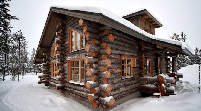 Hüttenurlaub Lappland