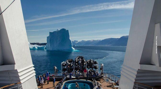 Groenland Schiffsreise