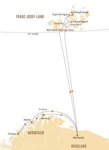 Spitzbergen und Franz-Josef-Land