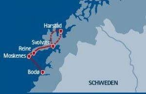 Norwegen Busreise