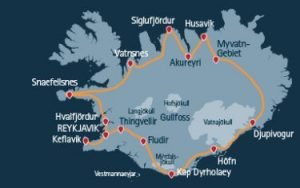 Mietwagenrundreise Island