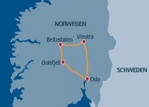 Norwegen Wanderreise