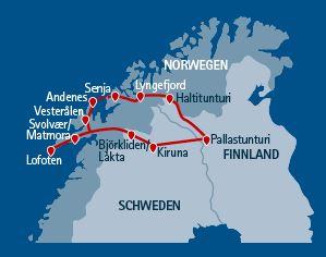 Wanderreise Skandinavien