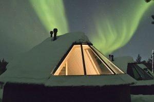 Nordlicht Hütte