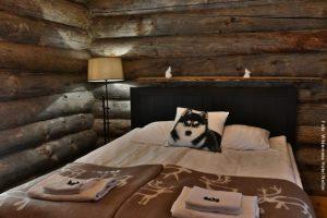 Arktis Blockhütte