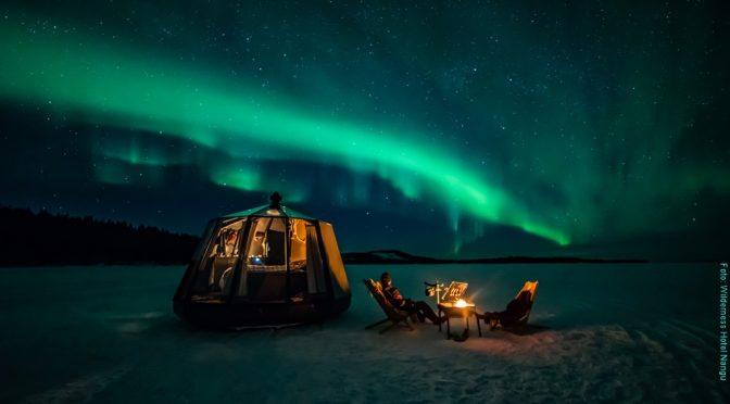 Wildnis Hotel Nangu Lappland