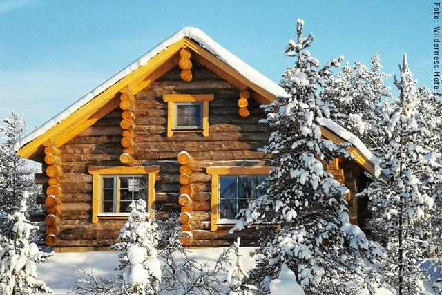 Winterreise Lappland Muotka