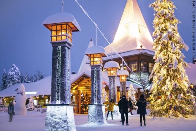 Weihnachten in Lappland - Rovaniemi