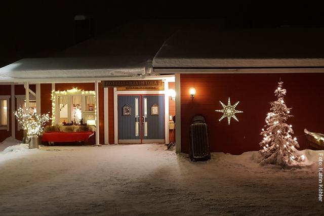 Weihnachten in Lappland - Äkäslompolo