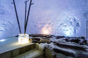 Schweden Winter Reisen - Schnee-Iglu Hotel