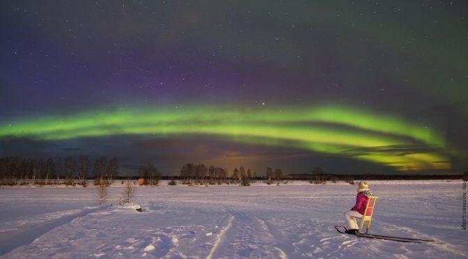 Winterreise Schweden's Norden