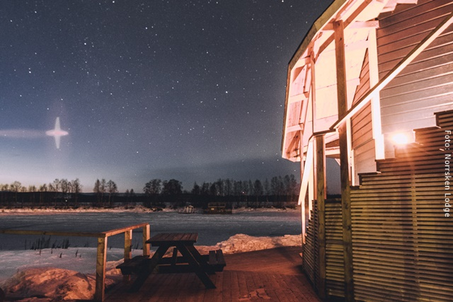 Winterreise Schwedens Norden
