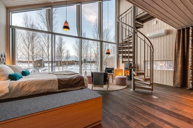 Artic Bath Spahotel Lappland - Landhütte