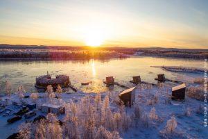 Schweden Winter Reisen - Arctic Bath - Spahotel Lappland
