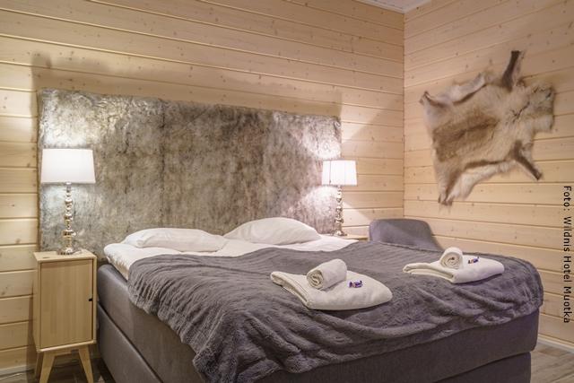 Wildnishotel Muotka Lappland