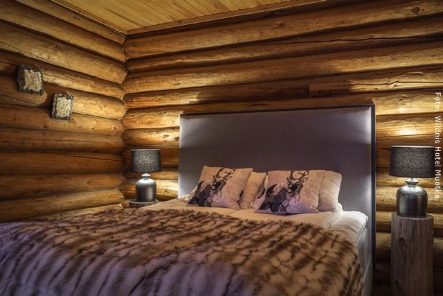 Wildnis Hotel Muotka Lappland