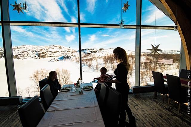 Schneehotel Norwegen - Restaurant