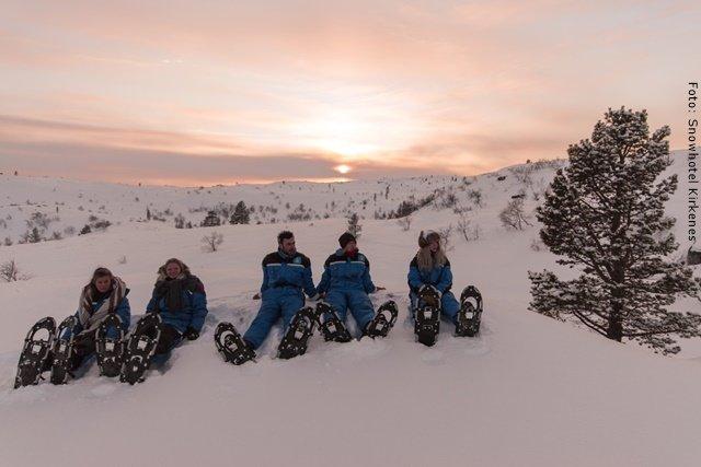 Kirkenes - Schneeschuhwanderung