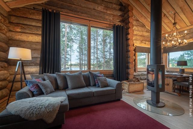 Inari Wildnishotel Lappland