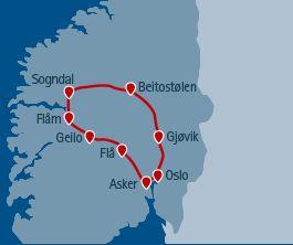 Mietwagenrundreise Norwegen