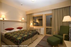 Inarisee Hotel Kultahovi Fluss