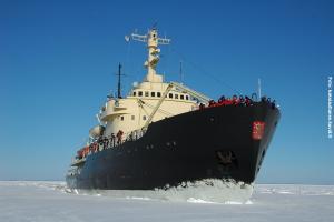 Glasiglus Finnland, Eisbrecher Sampo
