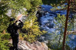 Finnland Fluss
