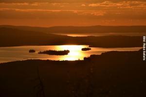 Finnland Sonnenuntergang
