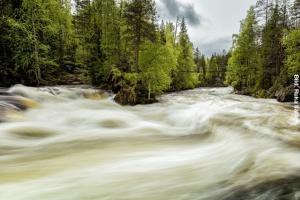 Finnland Stromschnelle