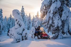 Schneemobil Safari Rovaniemi