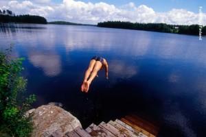 Finnland-See