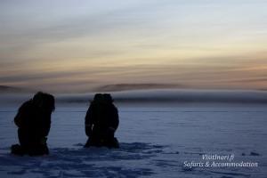Eisangeln-Finnland-Winterreise