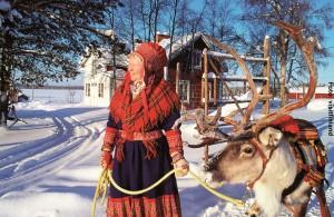 Finnlandreise-Winter und Sami